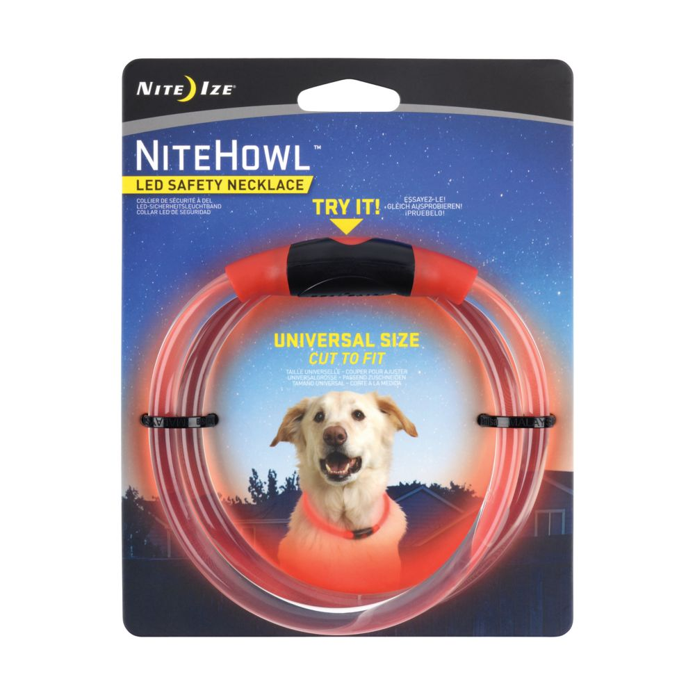 Nite Howl Collar-Red