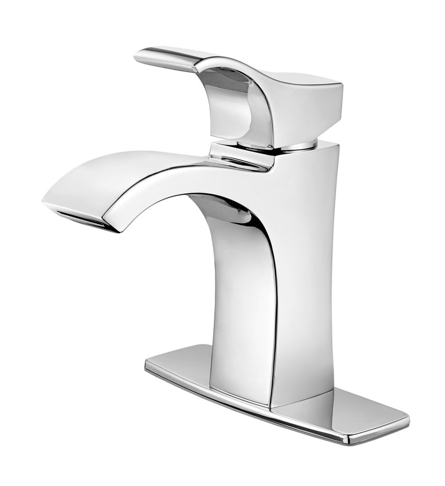 7 Faucet Finishes For Fabulous Bathrooms: Pfister Pasadena Single-Control Bathroom Faucet In Chrome