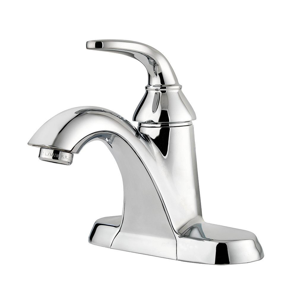 Pasadena Single-Control Bathroom Faucet in Chrome Finish