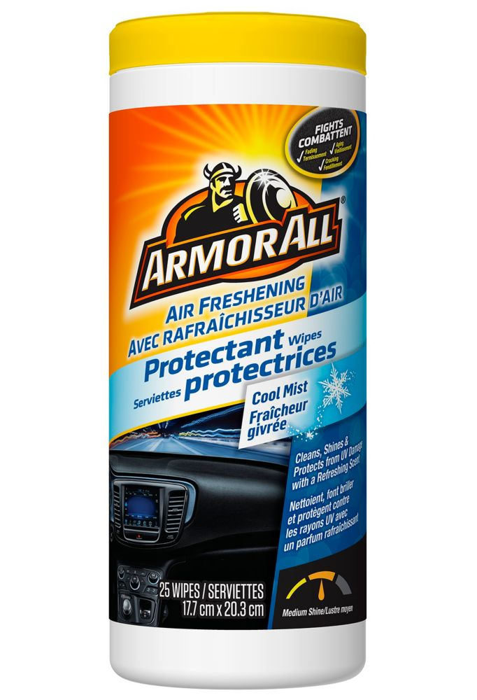 Armor All Protectant Wipes-Cool Mist 25ct