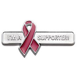 Roadsport Badgez - Chrome Emblems - Supporter Ribbon