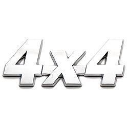 Roadsport Badgez - Chrome Emblems - 4X4