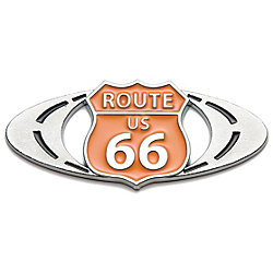 Roadsport Badgez - Chrome Emblems - Route-66