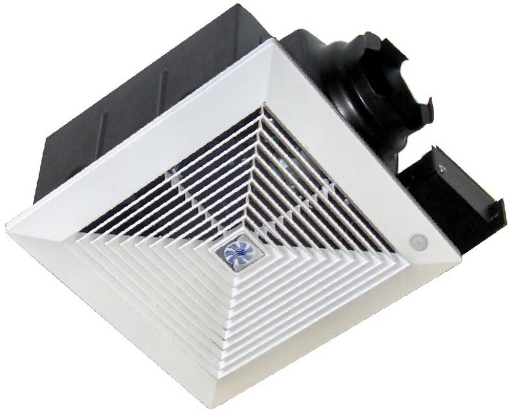 Softaire extrêmement silencieux ventilateur disponible avec détecteur de mouvement: 70 CFM,  0.3 ...