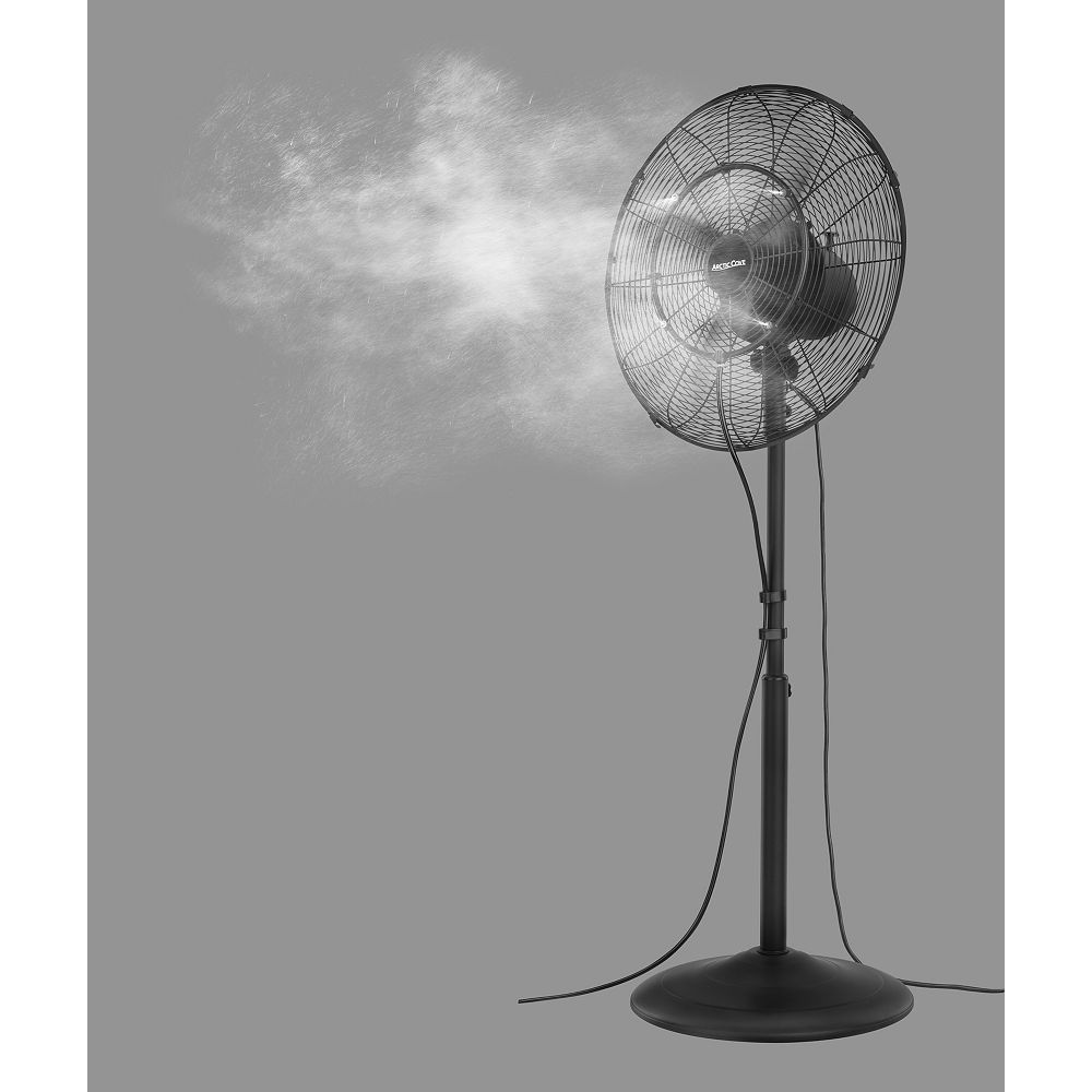 Artic Cove 18 Inch. 3-Speed Oscillating Misting Fan