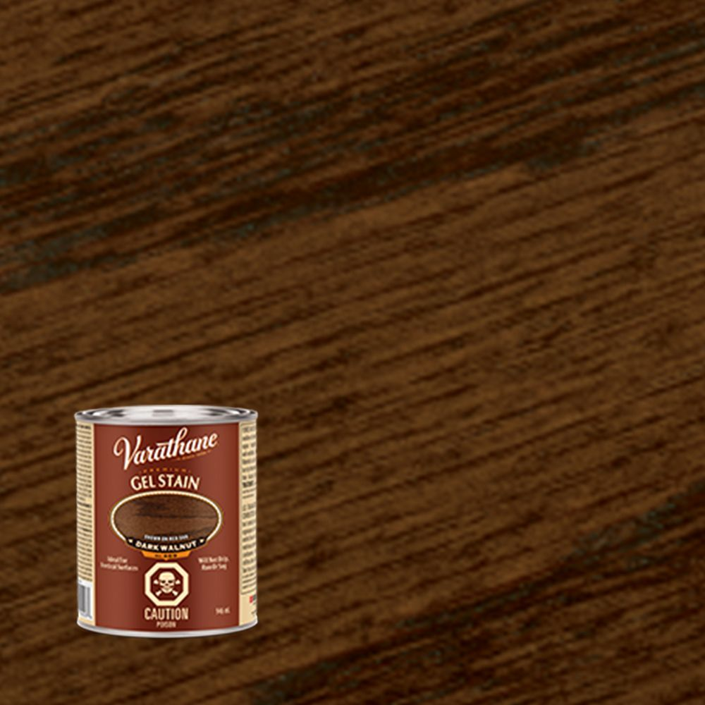 Varathane Premium Gel Stain Dark Walnut 946ml