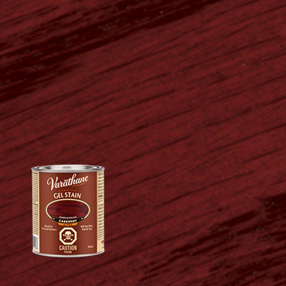Varathane Premium Gel Stain Cabernet  946ml