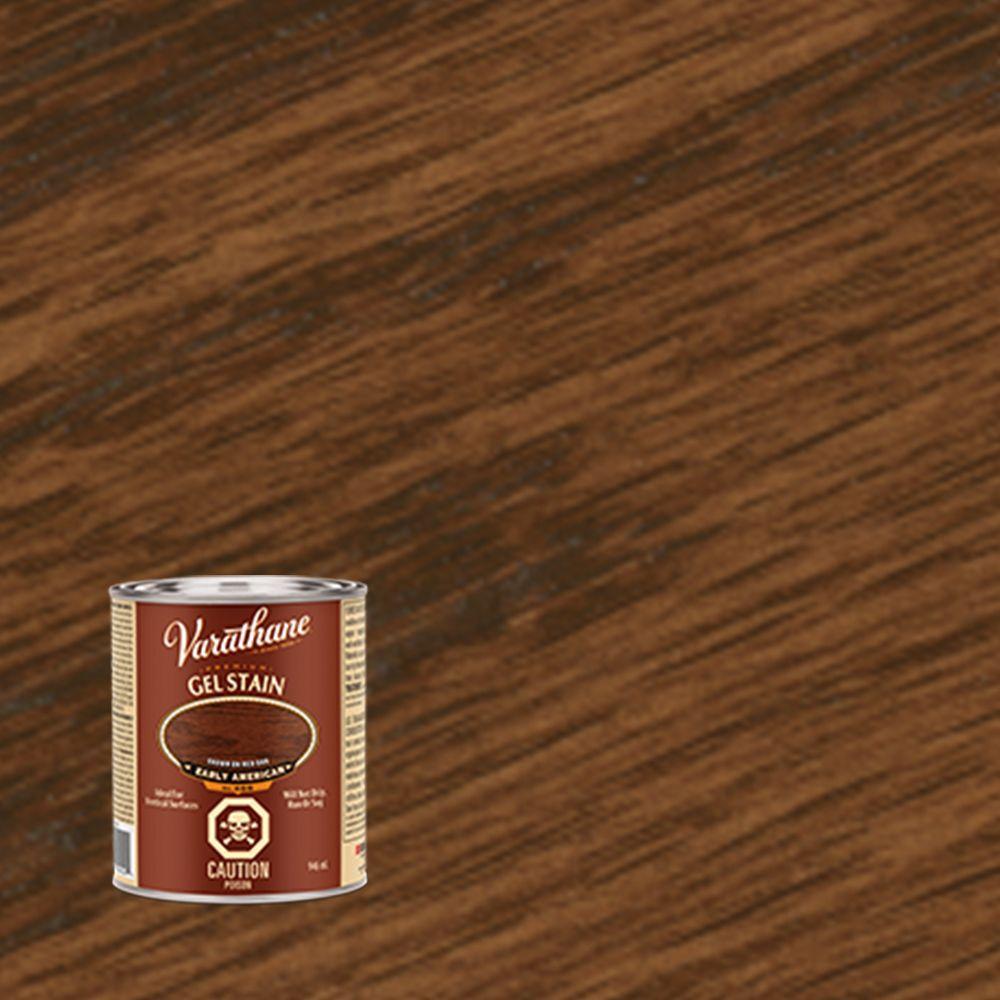 Varathane Premium Gel Stain Red Mahogany  946ml