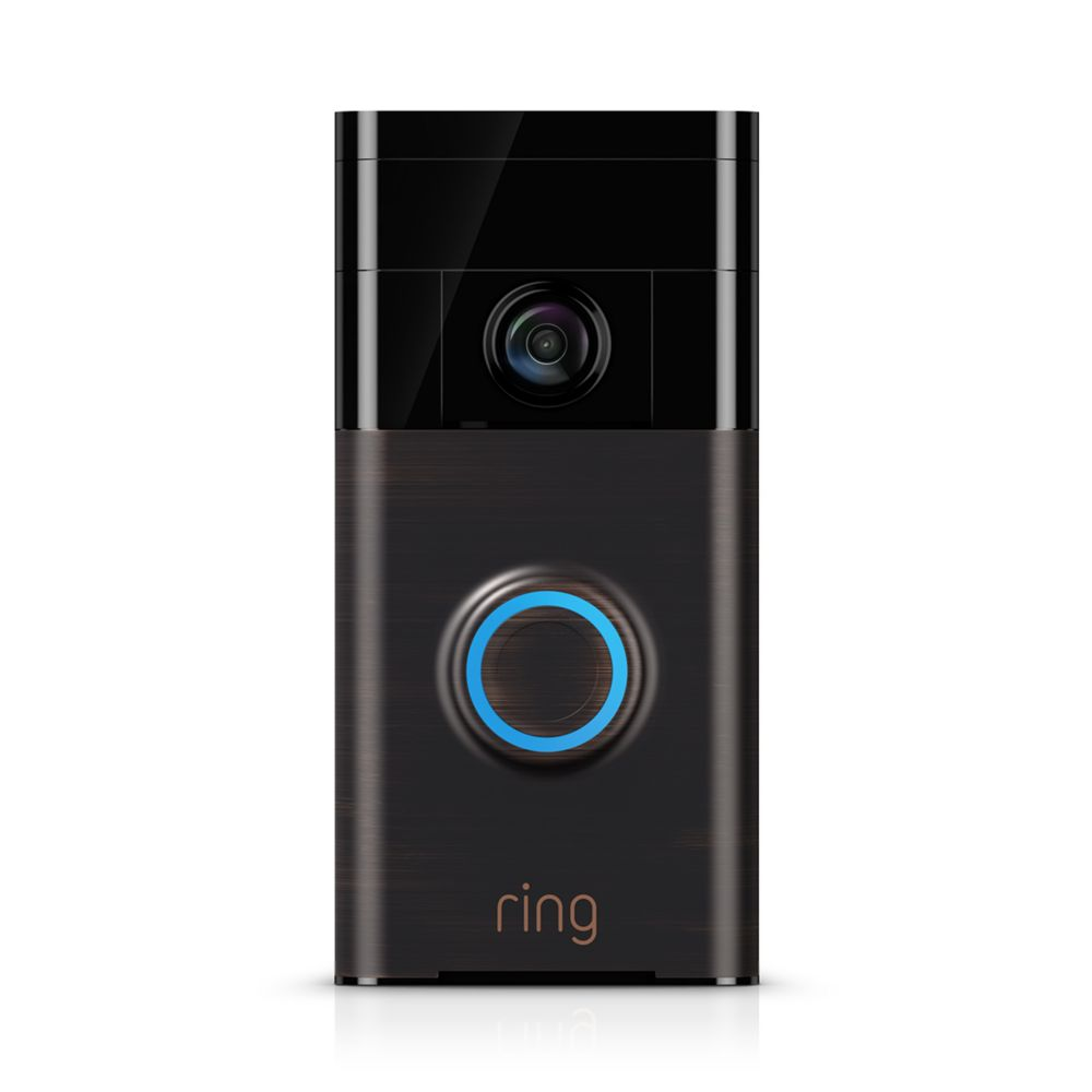 ring video doorbell the home depot canada. Black Bedroom Furniture Sets. Home Design Ideas