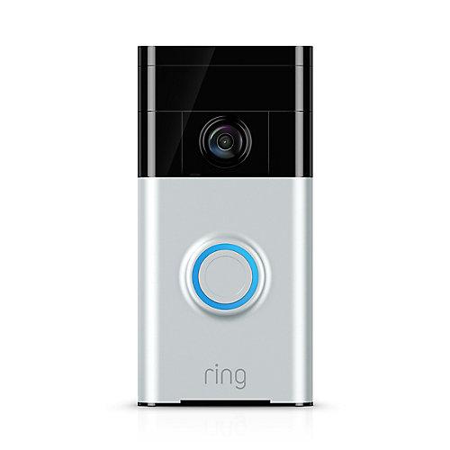 Video Doorbell in Satin Nickel