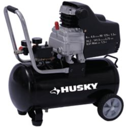 HUSKY 8 Gallon Portable Oil Lubricated Air Compressor