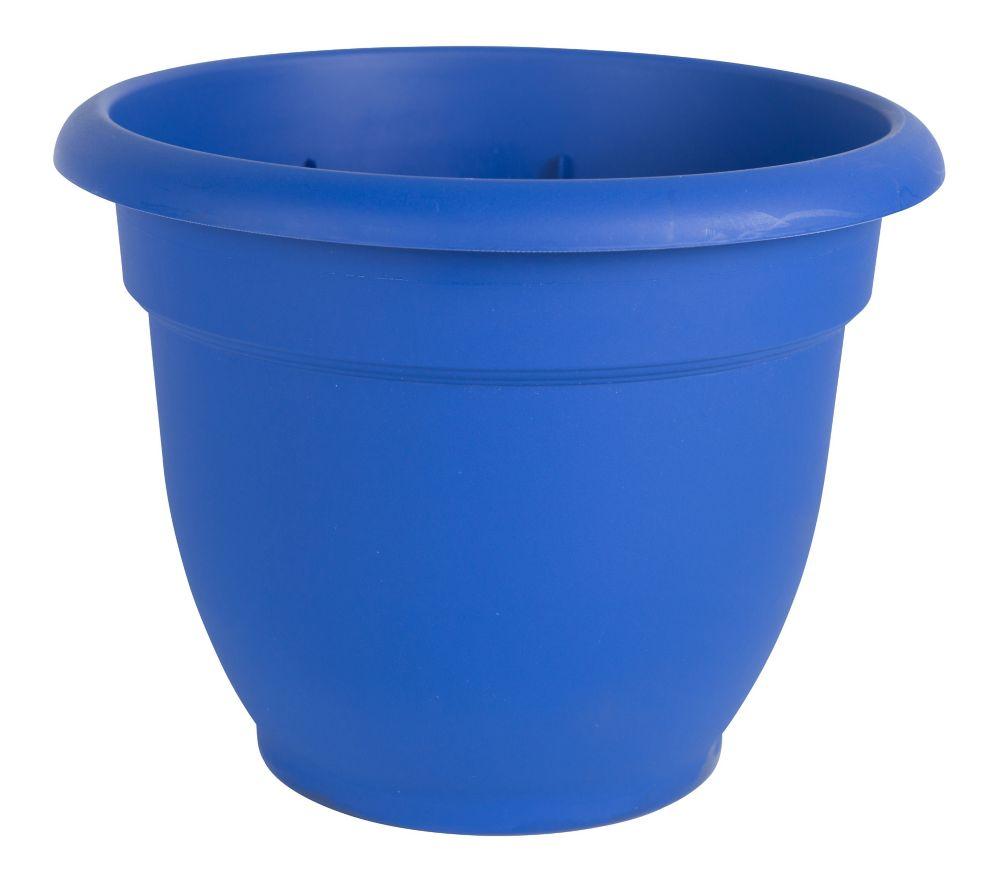 """6"""" Jardinière Ariana bleu"""