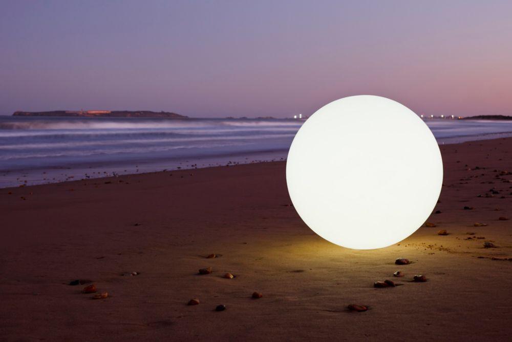 Lampe «Globe» DEL Étanche, sans fil, Portable, Intérieur/Extérieur