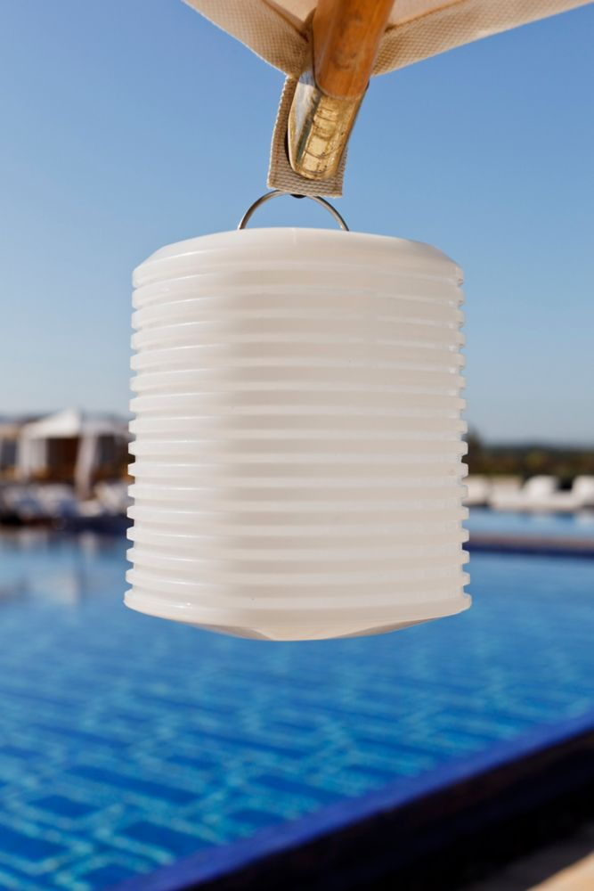 Lantern Outdoor Accent With Wireless LED Light
