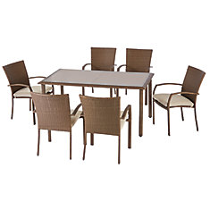 Delaronde 7 Piece Dining Set