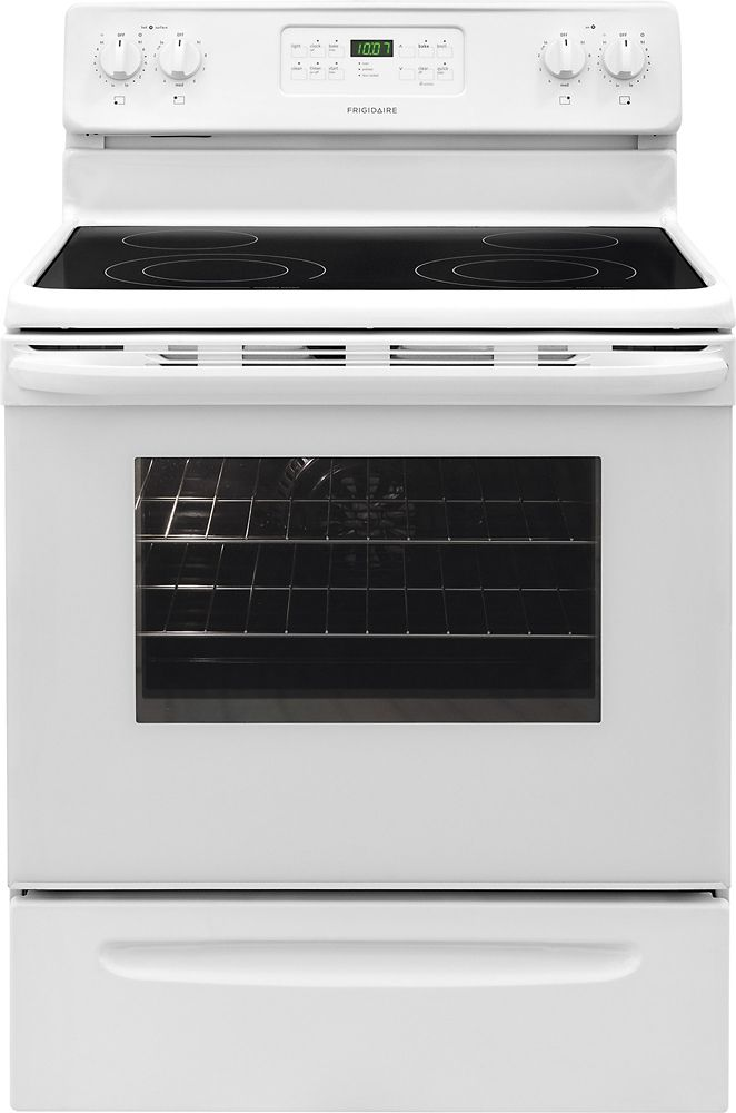 5.4 cu. ft. Free-Standing Electric Range in White