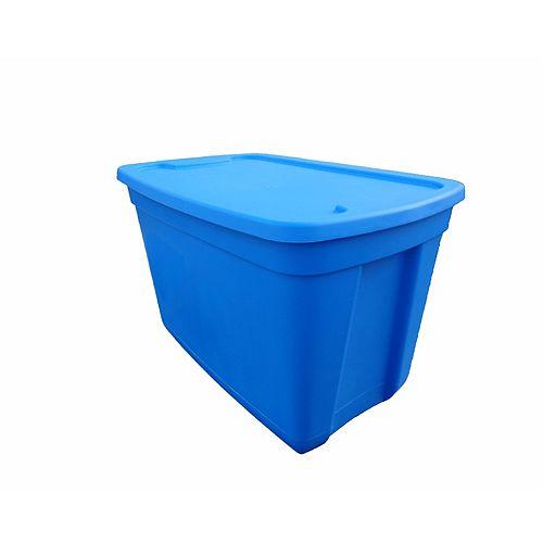 HDX Storage Tote in Ocean Blue, 76 L