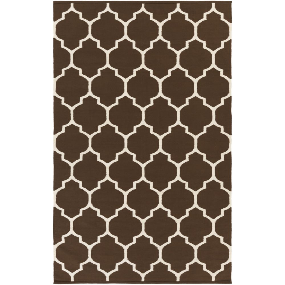 Vogue Claire 8Feet  x 10Feet  Brown/White