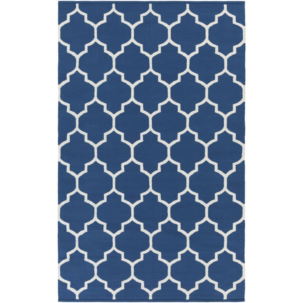 Vogue Claire 4Feet  x 6Feet  Blue/White