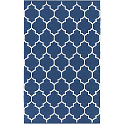 Artistic Weavers Vogue Claire Blue 8 ft. x 10 ft. Indoor Contemporary Rectangular Area Rug