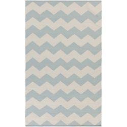 Artistic Weavers Carpette d'intérieur, 3 pi x 5 pi, style contemporain, rectangulaire, bleu Vogue Collins