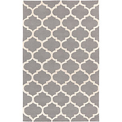 Artistic Weavers Carpette d'intérieur, 5 pi x 8 pi, à poils longs, style contemporain, rectangulaire, gris Pollack Stella
