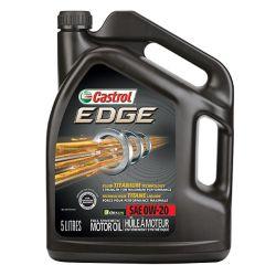 Castrol Edge 0w20 5l Syn. Motor Oil