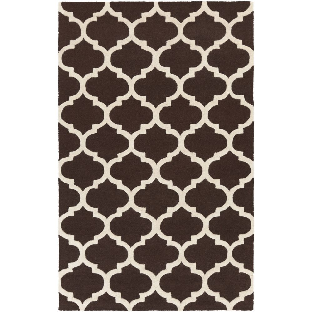 Pollack Stella 5Feet  x 8Feet  Brown/White