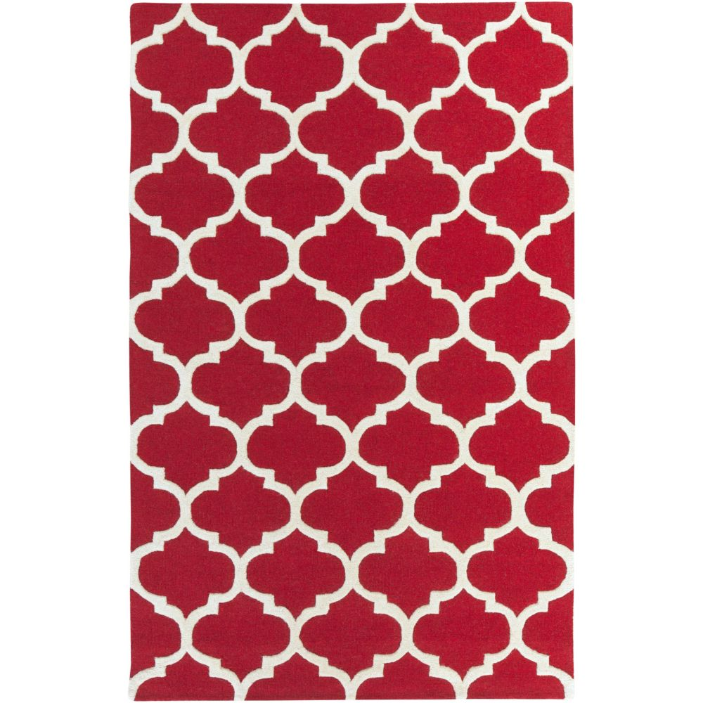 Artistic Weavers Pollack Stella Red 5 ft. x 8 ft. Indoor Contemporary Rectangular Area Rug
