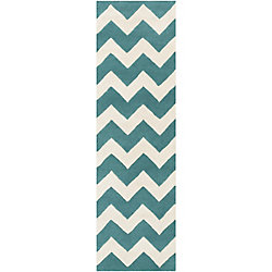 Artistic Weavers Transit Penelope Blue 2 ft. 3-inch x 8 ft. Indoor Contemporary Runner