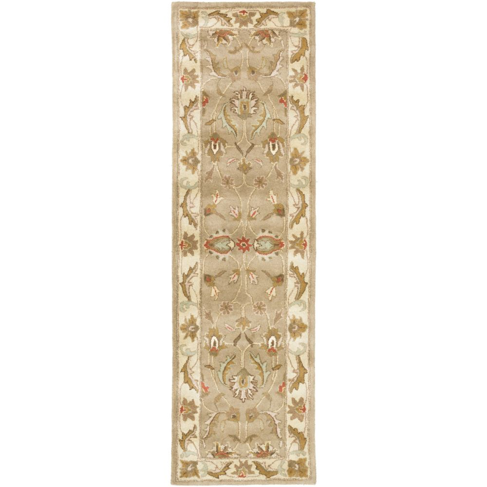 Artistic Weavers Oxford Isabelle Beige Tan 2 ft. 3-inch x 8 ft. Indoor Traditional Runner