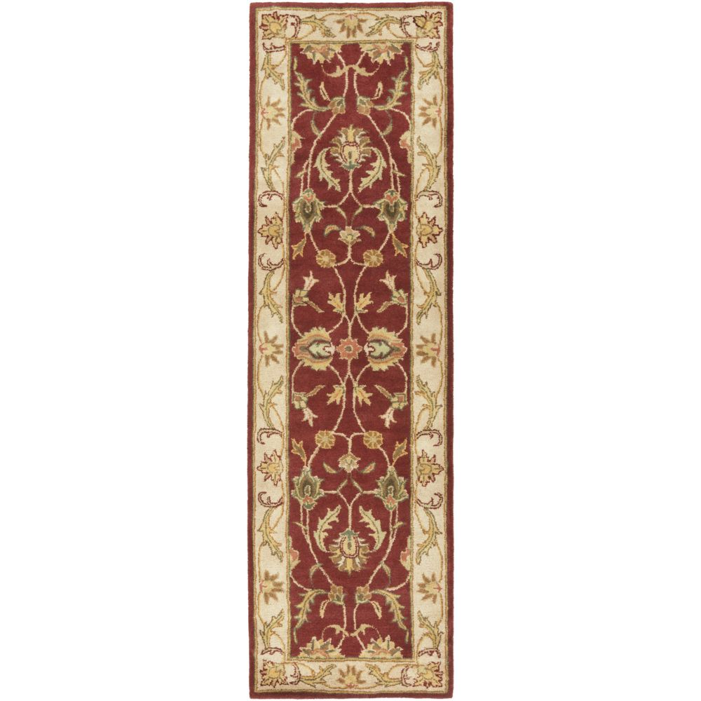 Artistic Weavers Oxford Isabelle Red 2 ft. 3-inch x 8 ft. Indoor Traditional Runner