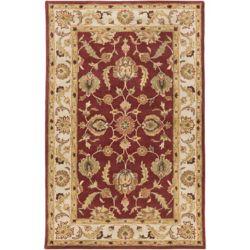 Artistic Weavers Carpette d'intérieur, 5 pi x 8 pi, style traditionnel, rectangulaire, rouge Oxford Isabelle