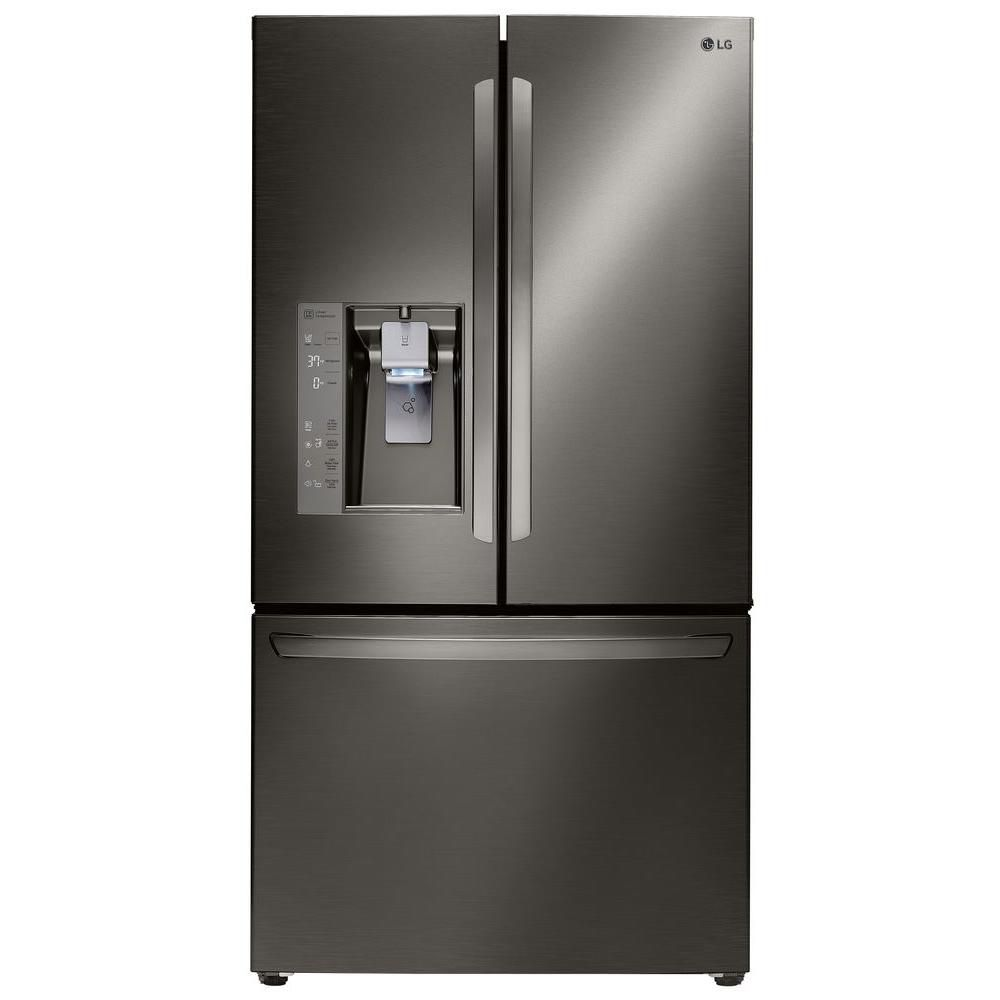 Diamond Collection 24 cu. ft. Counter-Depth Refrigerator in Stainless Steel