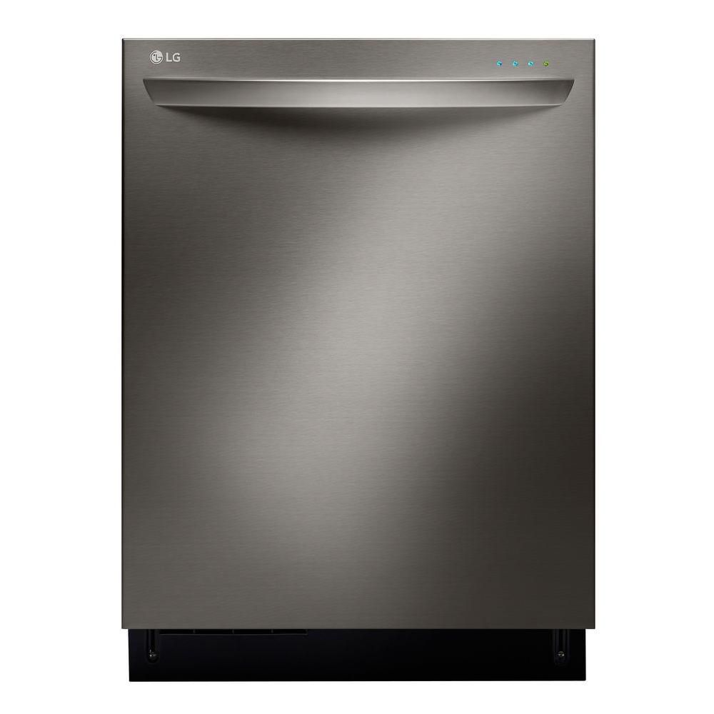 Black Stainless Steel Series� 24-inch Fully-Integrated Dishwasher with TrueSteam� Generator in St...
