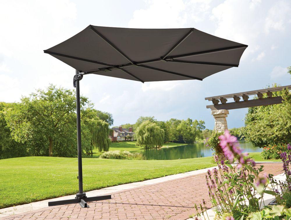 Décalage de luxe parapluie des lames