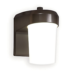 All-Pro LED Area Wall W Photo Cell, Bronze