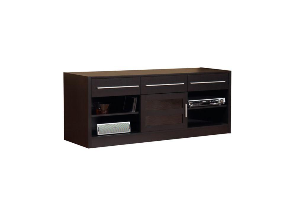 """Cappuccino Hollow-Core 60""""L Tv Console I 3586 in Canada"""
