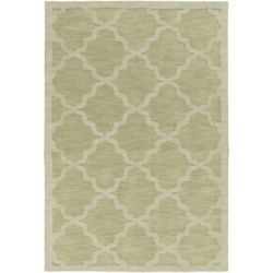 Artistic Weavers Central Park Abbey Green 8 ft. x 10 ft. Indoor Contemporary Rectangular Area Rug