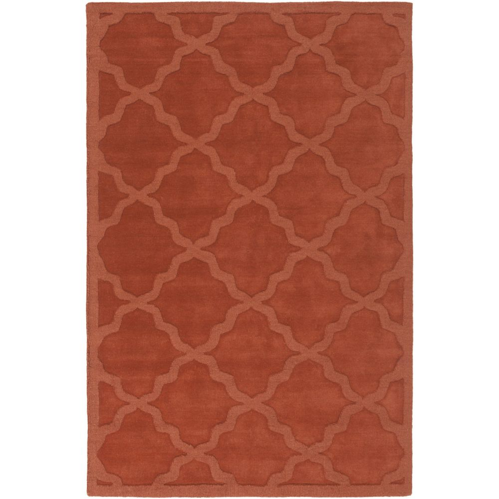 Artistic Weavers Central Park Abbey Orange 10 ft. x 14 ft. Indoor Contemporary Rectangular Area Rug