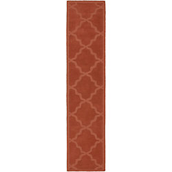 Artistic Weavers Central Park Abbey Orange 2 ft. 3-inch x 8 ft. Indoor Contemporary Runner