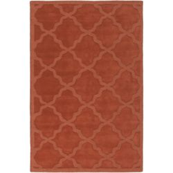 Artistic Weavers Central Park Abbey Orange 6 ft. x 9 ft. Indoor Contemporary Rectangular Area Rug