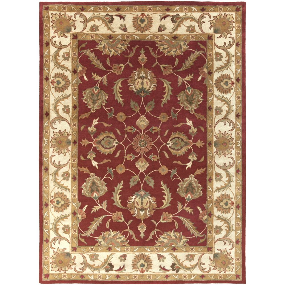 Artistic Weavers Oxford Isabelle Red 8 ft. x 11 ft. Indoor Traditional Rectangular Area Rug