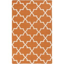 Artistic Weavers Pollack Keely Orange 8 ft. x 11 ft. Indoor Contemporary Rectangular Area Rug