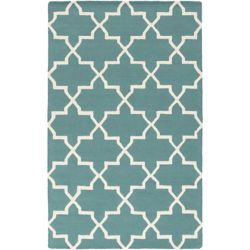Artistic Weavers Pollack Keely Blue 6 ft. x 9 ft. Indoor Contemporary Rectangular Area Rug