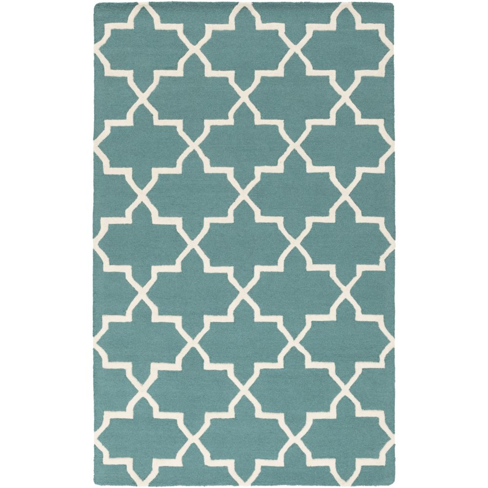Artistic Weavers Pollack Keely Blue 8 ft. x 11 ft. Indoor Contemporary Rectangular Area Rug