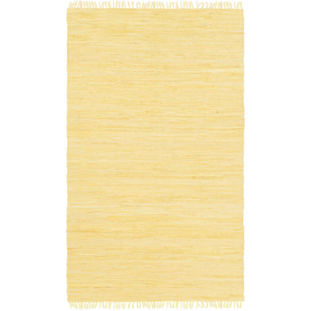 Easy Home Delaney 2Feet  x 3Feet  Gold