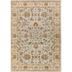 Artistic Weavers Carpette d'intérieur, 8 pi x 11 pi, style traditionnel, rectangulaire, or Middleton Charlotte