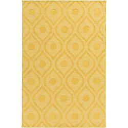 Artistic Weavers Carpette d'intérieur, 2 pi x 3 pi, style transitionnel, rectangulaire, havane Central Park Zara