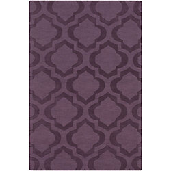 Artistic Weavers Central Park Kate Purple 5 ft. x 7 ft. 6-inch Indoor Transitional Rectangular Area Rug